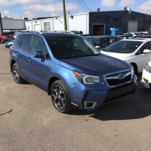 2016 Subaru Forester XT Limited - ONLY 1700KM!!