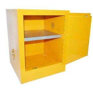 Yellow Steel Industrial Small Flammable Safety Locker Cabinets /Safety Storage Cabinet 032177