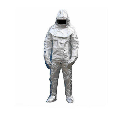 Aluminized Suit Fireproof Cloth Sharelov 1000c Thermal Radiation Heat Resistant