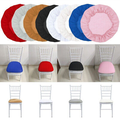 Square Round Chair Covers Removable Stretch Slipcovers Kitchen Chair Seat Cover