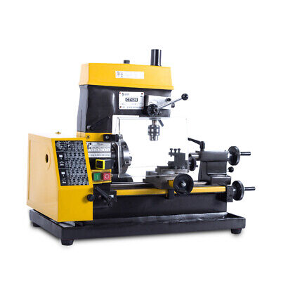 Multi-function 500-2500 Rpm Mini Lathe Machine Desktop Diy Drilling Milling Tool