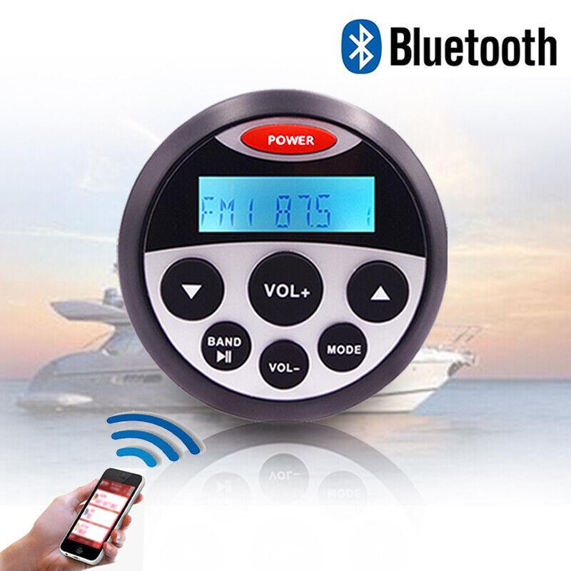 Marine Stereo Radio Boat Sound System Bluetooth Waterproof Audio Car MP3 Player