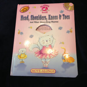 Head and Shoulders, knees and toes Board Book
