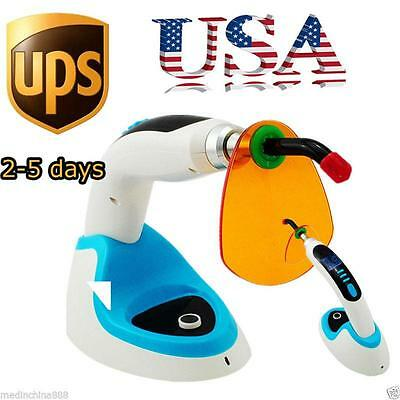 Us 10w Cordless Dental Curing Light Lamp 2000mw Whitening