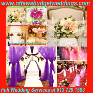WEDDING Decors+Lights+Flowers from $19 with WEDDING SERVICES