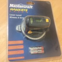 MASTERCRAFT HAWKEYE LASER LEVEL-NEW IN PKG