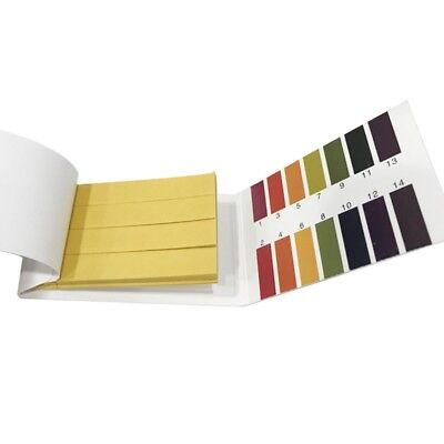 Ph Test Strips Ms 80 Strips Universal Application Ph 1-14 Test Paper Litmus