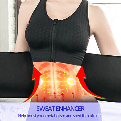 HOT Best Waist Trainer for women Sauna Sweat Thermo Yoga Sport Shaper Belt