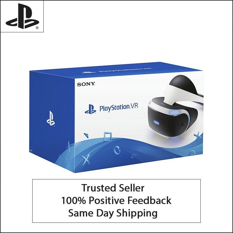 Sony PlayStation VR PS4 Virtual Reality Headset Core Bundle PS PSVR CUH-ZR2🚚 💨