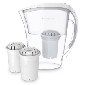 Alkaline Water Pitcher Ionizer With 2  filters
