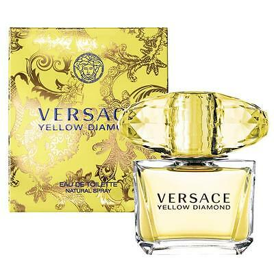 YELLOW DIAMOND by VERSACE * Perfume for Women * EDT * 3.0 oz BRAND NIB Sealed