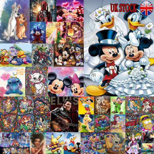 cars - UK Full Drill 5D Diamond Painting Embroidery Cross Craft Art Mickey Characters