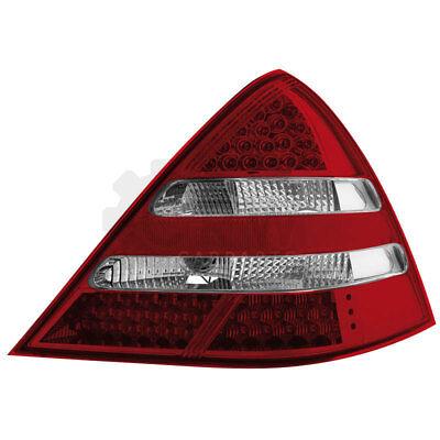 LED 2 x Rückleuchten Mercedes SLK R170 00-04 red/crystal / Klarglas JZ1