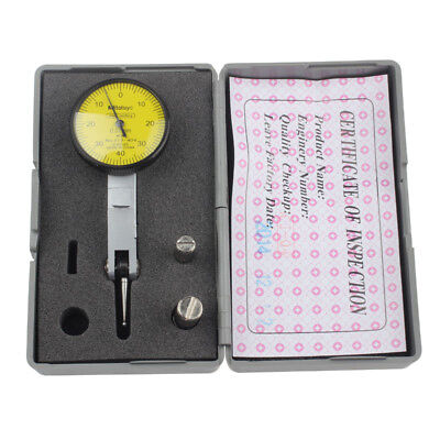 Fowler Dial Gauge Test Indicator Precision Metric Dovetail Rails 0-40-0 0.01mm
