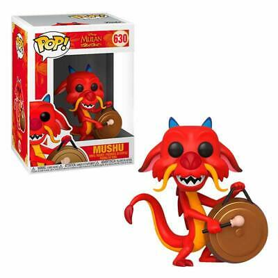 Funko POP! Disney: Mulan: Mushu con gong