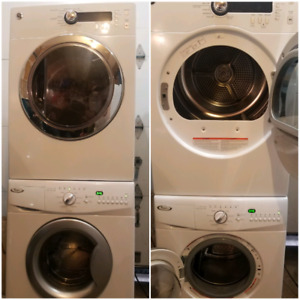 """24"""" apartment size compact washer and dryer"""