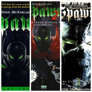 Spawn complete animated series seasons 1 to 3 dvds