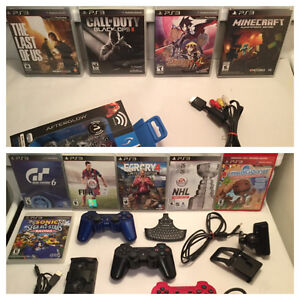 Divers Ps3-clavier-camera-manettes-NHL Legacy- COD etc..