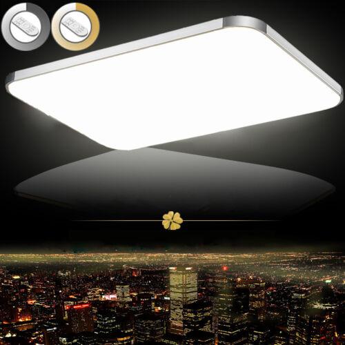 Dimmbar LED Deckenleuchte Deckenlampe Wohnzimmer Badleuchte Küchen ...