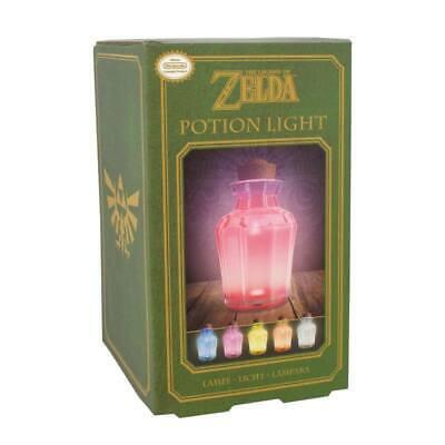 Offiziell Lizenzierte The Legend of Zelda Figur Lampe Lamp Elixier Potion