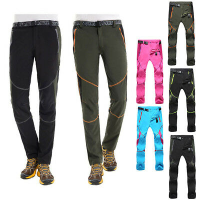 UOMO DONNA per Outdoor e escursionismo Arrampicata Pantaloni da sci ANTI VENTO