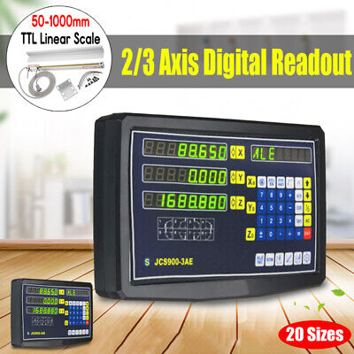 23 Axis Digital Readout Linear Scale Dro Display Cnc Milling Lathe Encoder