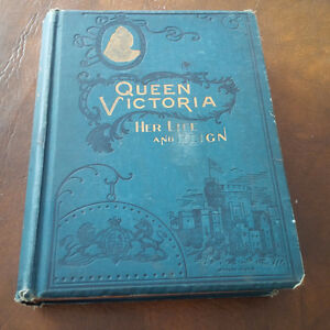 Queen Victoria Her Life and Reign, 1896, Illustrated Kitchener / Waterloo Kitchener Area image 1