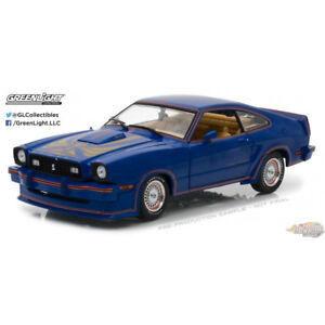 1978 Mustang King Cobra Bleu   1/18