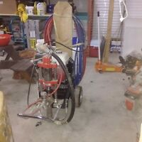 Hydraulic  roof sprayer/ paint sprayer