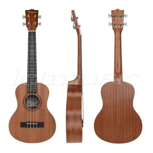 kmise professional 26 inch tenor ukulele uke hawaii guitar parts sapele 18 fret ebay. Black Bedroom Furniture Sets. Home Design Ideas