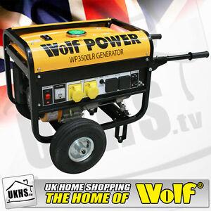 Wolf-WP3500LR-3200Watt-6-5HP-4-KVA-Petrol-Generator