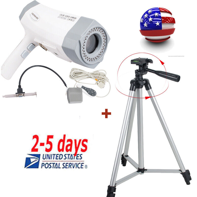Digital Electronic Colposcope Cervical Diagnosis 480,000 Pixels Video Camera New