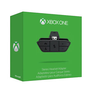 xbox one microsoft headset adaptor (adaptateur)