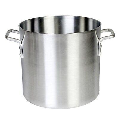 THUNDER Group 12qt Heavy Duty Aluminum Stock Pot W Mirror Finish - ALSKSP002