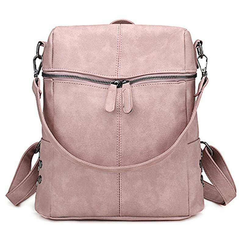 Women Backpack Anti-Theft Rucksack Travel Casual Shoulders Bag Satchel Handbags Clothing, Shoes & Accessories