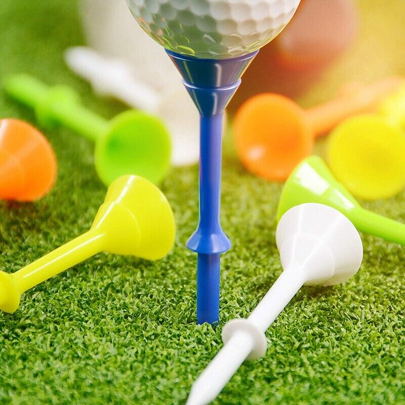 """Big Cup 3-1/4"""" Golf Tees Pack Of 60 Durable Tees Multi Color Cups Golfs Sports"""