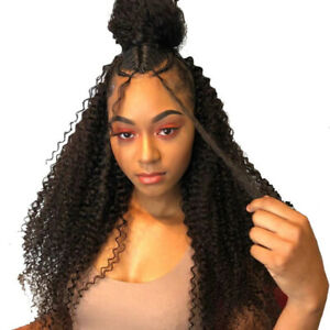 Kinky Curly Full Lace Human Hair Wigs