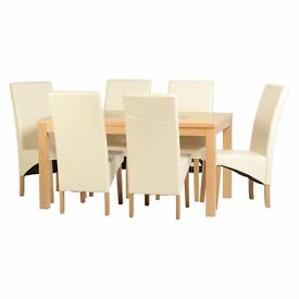 wexford table and 6 chairs