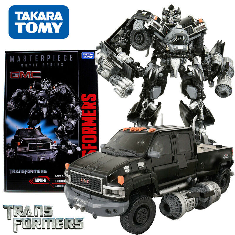 Takara Tomy Transformers Movie MPM-6 Ironhide Masterpiece Action Figure USA