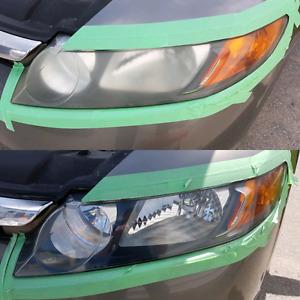 Headlight Restoration Service $60.00