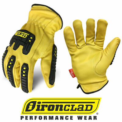 Ironclad Ild-impc5 Ultimate 360 Premium Leather Work Gloves - Select Size
