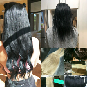 Brand New Halo Hair Extension 24  inch can curl & Straighten New Farm Brisbane North East Preview