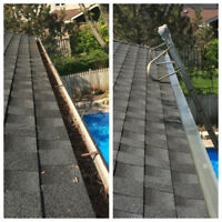 Eavestrough Cleaning & Gutter Guard Installation