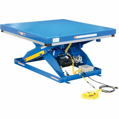 Vestil Hydraulic Scissor Lift Table Ehlt 4848-3-43. 48 X 48 X 43hi 3000 Pound
