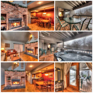6 Bed Blue Mountain Ski Chalet with Hot Tub - Sleeps 16