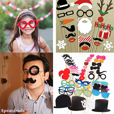 HOT SALE DIY Photo Booth Props Mustache For Wedding Birthday Christmas Party](Cheap Photo Props For Sale)