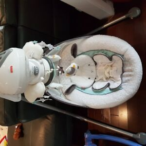 Fisher-Price My Little Lamb Platinum Edition Cradle and Swing
