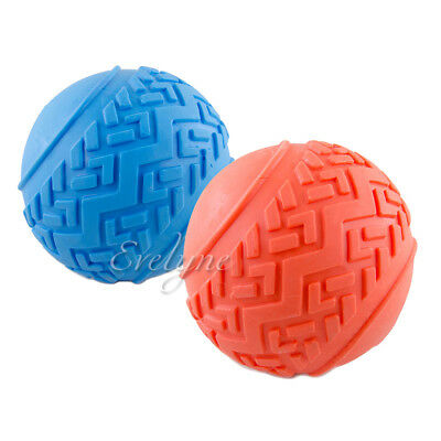 2-Piece Set Pet Supplies Soft Chew Toy For Dog Squeaky Tread Ball - Colors -