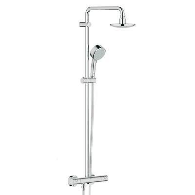 GROHE Tempesta Cosmopolitan Dusche Duschsystem mit Kopf und Handbrause 27922000