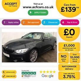 BMW 435 M Sport FROM £139 PER WEEK!